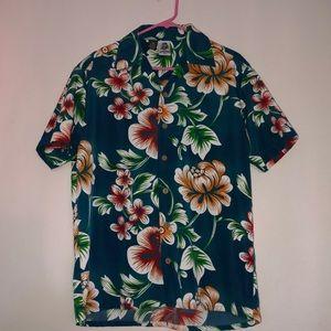 Kennington floral Hawaiian shirt size Meduim